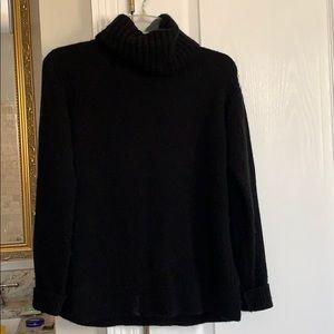 J Crew cashmere blend cowl neck sweater